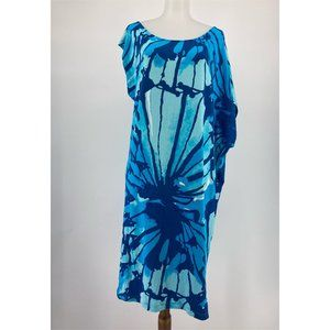 Lilly Pulitzer Tessa Dress Sparkling Blue Get Inky